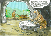 Cartoon: ... (small) by GB tagged rad,wheel,table,stoneage,invention,erfindung