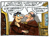 Cartoon: .... (small) by GB tagged katholik,kirche,missbrauch,pater,kloster,church,catholic,reloigion