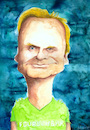 Cartoon: Uwe Steimle (small) by Mario Schuster tagged uwe,steimle,mario,schuster,karikatur,cartoon