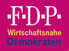 Cartoon: Neues Logo - neue Strategie (small) by thalasso tagged fdp,logo,wahlkampf,2015,magenta