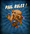 Cartoon: Paul Rules ! (small) by Thomas Berthelon tagged berthelon thomas worldcup world cup 2010 mondial football paul octopus