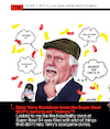 Cartoon: Bradshaw Superbowl Confusion (small) by karlwimer tagged terry,bradshaw,american,football,nfl,superbowl,announcer,patrick,mahomes