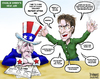 Cartoon: Uncle Sam Pep Talk (small) by karlwimer tagged charlie,sheen,business,usa,economy,uncle,sam,employment,market,confidence,crazy,insane,overconfidence
