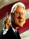 Cartoon: bill Clinton (small) by jabir tagged bill,clinton