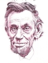 Cartoon: Abe Lincoln (small) by wwoeart tagged abraham,lincoln