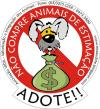 Cartoon: Adote (small) by Miaaudote tagged dog street puppy miaaudote palmas tocantins brasil pet cao cachorro vira lata adote adocao animals