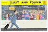 Cartoon: air niki aus (small) by leopold maurer tagged air,niki,lufthansa,insolvenz,passagiere,gestrandet