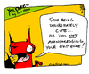 Cartoon: Yet another Yo and Dude comic! (small) by ericHews tagged cute,deliberate