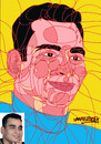 Cartoon: Interlaced lines (small) by omar seddek mostafa tagged omar,seddek