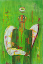 Cartoon: the angel (small) by omar seddek mostafa tagged the,angel