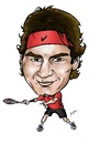 Cartoon: Roger Federer (small) by Perics tagged roger federer tennis caricature atp tour