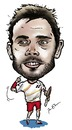 Cartoon: Stanislas Wawrinka (small) by Perics tagged stanislas wawrinka caricature australian open champions switzerland tennis wimbledon melbourne serve volley