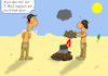 Cartoon: Indianer-Email (small) by Grikewilli tagged indianer cowboys mail email laptop notebook apple pc umts lte mobilfunk internet amerika wilderwesten cowboy usa medienkompetenz post telekom kommunikation lagerfeuer feuer rauch rauchzeichen beil kriegsbeil federn häuptling steppe wüste tipi
