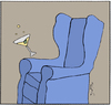 Cartoon: Cocktail Hour (small) by ringer tagged chair,cocktail,drinking,drink,tipsy,time