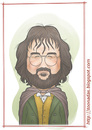Cartoon: Peter Jackson (small) by Freelah tagged peter,jackson