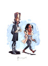 Cartoon: Sleepy Hollow (small) by Babooing tagged sleepy,hollow,tv,show