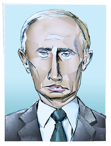 Cartoon: Kalter Krieger (medium) by Jan Rieckhoff tagged wladimir,putin,präsident,russland,russische,föderation,ukraine,krim,annexion,krise,einmarsch,kalter,krieg,portrait,karikatur,jan,rieckhoff,wladimir,putin,präsident,russland,russische,föderation,ukraine,krim,annexion,krise,einmarsch,kalter,krieg,portrait,karikatur,jan,rieckhoff