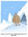 Cartoon: Am Himalaya (small) by Weyershausen tagged yeti,beinenthaarung,single