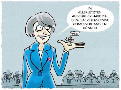 Cartoon: ...Theresa... (medium) by markus-grolik tagged brexit,theresa,may,backstop,irland,europa,eu,brüssel,brexit,theresa,may,backstop,irland,europa,eu,brüssel