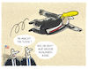 Cartoon: ... (small) by markus-grolik tagged trump,auslandsreise,usa,präsident
