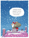 Cartoon: ... (small) by markus-grolik tagged weihnachten,konsum,mas,winter,santa,claus,jingle,bells,nikolaus,heilig,abend,geschenk,schneemann