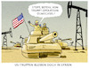 Cartoon: ... (small) by markus-grolik tagged oelwechsel,trump,syrien,putin,erdogan,geostrategie,oel,usa,us,praesident,kurden,ypg,is,truppenrueckzug
