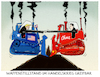 Cartoon: Annäherung.. (small) by markus-grolik tagged handelskrieg,china,usa,strafzoelle,soja,peking,handel,wirtschaft