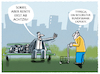 Cartoon: Aussichten (small) by markus-grolik tagged rente,renteneintrittsalter,bundesbank,deutschland,demografie
