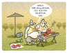 Cartoon: BBQ-Vorsätze (small) by markus-grolik tagged fleisch,grillen,veggie,salat,bbq,hitze,hitzewelle,sommer,billigfleisch,bone,steak,wurst,vegetarier,cartoon,grolik