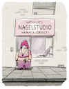 Cartoon: Beauty-Dienstleisterin (small) by markus-grolik tagged nagel,nails,hammer,service,nagelstudio,beauty,body,frau,frauen