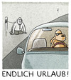 Cartoon: ..the power of holidays... (small) by markus-grolik tagged holiday,urlaub,tourismus,haustier,hund,hundstage,herrchen,ferien,schulferien,reisewelle,stau,verkehr,kläffer,köter,wau,wauwauauto,cartoon,grolik