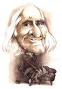 Cartoon: Liszt Ferenc Year 2011 (small) by Szena tagged liszt ferenc franz caricatur componist vituoso pianist