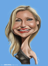 Cartoon: Cameron Diaz (small) by jaime ortega tagged cameron,diaz