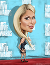 Cartoon: Paris Hilton (small) by jaime ortega tagged paris,hilton