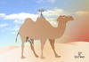 Cartoon: Camel (small) by Tonho tagged camel,water,reservoir,tank