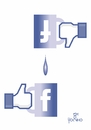 Cartoon: Like or do not like (small) by Tonho tagged like,or,do,not,facebook