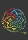 Cartoon: Mandala letter A (small) by Tonho tagged flower art friendship