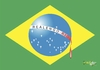 Cartoon: massacre (small) by Tonho tagged crying,brazil,flag