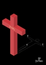 Cartoon: Victim (small) by Tonho tagged inri,vicrim,jesus,christ,cross