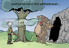 Cartoon: Morgenatem (small) by Tommestoons tagged bär,jäger,atem,morgenatem,bärenatem,jagd,gewehr,büchse,höhle,winterschlaf,überwintern,hauch,gestank,säure,ätzend,gefährlich