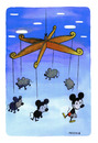 Cartoon: evolution (small) by Pecchia tagged pecchia,humor,cartoon