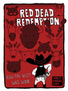 Cartoon: Red Dead Redemption (small) by Dailydanai tagged red,dead,redemption