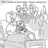 Cartoon: deploricity (small) by creative jones tagged basket,of,deplorables,illness,halling,ill,collapse