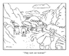 Cartoon: epic viking cartoon (small) by creative jones tagged viking abduction alien