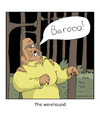 Cartoon: werecanine (small) by creative jones tagged werewolf,dog,horror