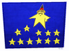 Cartoon: Germany and Europe (small) by Giacomo tagged europe,flag,stars,germany,merkel,giacomo,cardelli
