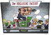 Cartoon: The BERLUSCONI FACTORY (small) by Giacomo tagged berlusconi,corruption,conspiracy,of,silence,mafia,escort,political,buy,factory,money,policy,giacomo,cardelli