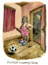 Cartoon: Football s coming home (small) by POLO tagged fussball soccer