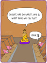 Cartoon: im Stall (small) by fcartoons tagged buddha,schwein,religion,karma,oink