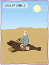 Cartoon: LACK OF CAMELS (small) by fcartoons tagged lack,of,camels,camel,kamel,seehund,desert,wüste,beduine,sun,sonne,cartoon,hot,heiß,tasche,tongue,zunge,himmel,sky,leash,toon,karawane